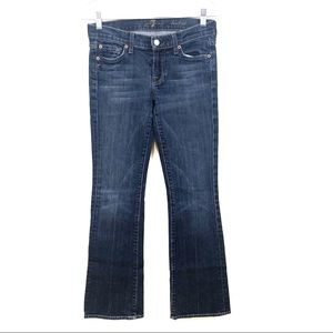 7 For All Mankind Bootcut Medium Wash Jeans, 26
